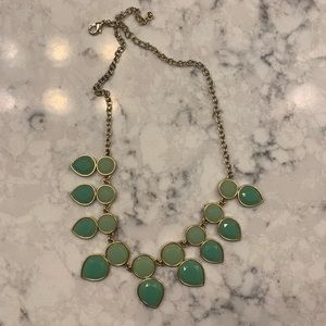 Jewelry - teal chunky necklace